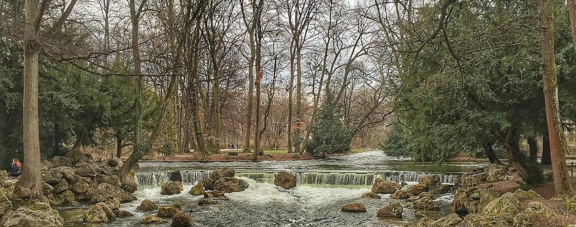 Ihr snapt, ich geh hin: Englischer Garten, München